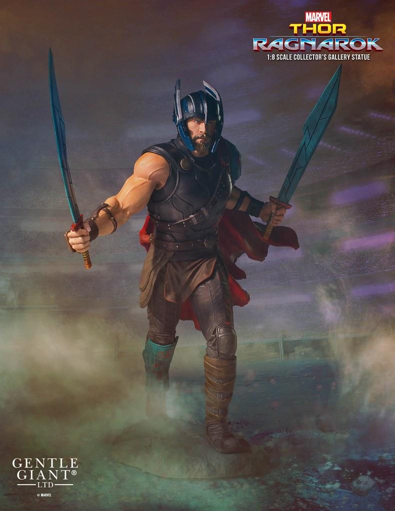 悶騷的性感之火來了!!Gentle Giant Collectors Gallery 雷神索爾3:諸神黃昏【索爾】Thor (Ragnarok) 1/8 比例全身雕像作品