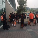 MSOC departing for first road swing (Justin Donaldson photo)
