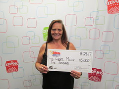 Cheryl Miller - $5,000 - Mega Millions - Gooding - Maverik