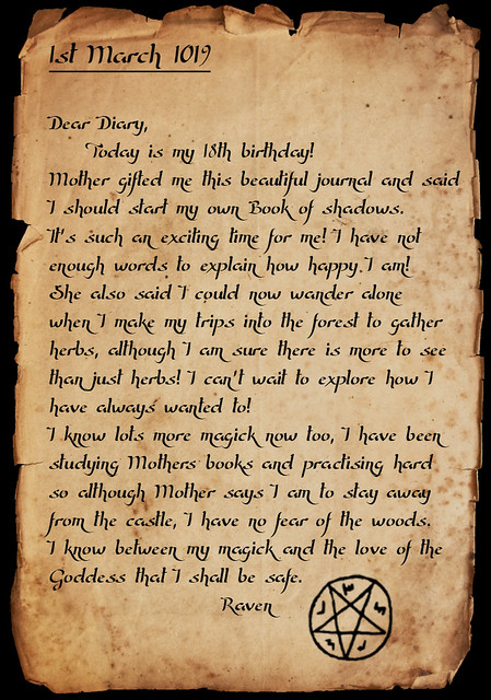Lady Raven Blackrain's Diary 36517762890_691b34a5af_z