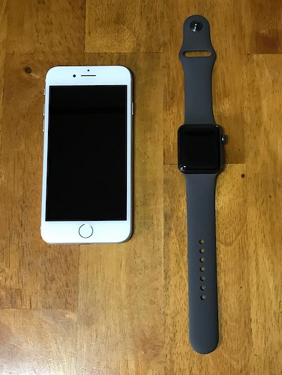 Apple Watch 3とiPhone8