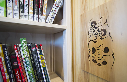 Tiki art and graphic novels