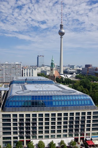 The DDR Museum and Berliner Fernsehturm (Television Tower)