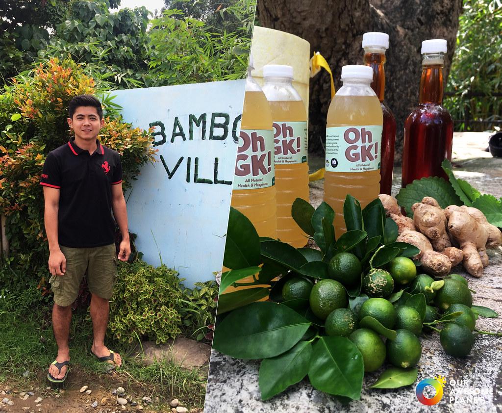 OhGK! (Oregano Honey Ginger Kalamansi): The Best Healthy Tea Drink in Manila! @GawadKalingaHQ