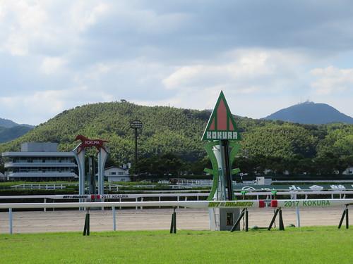 小倉競馬場のゴール板