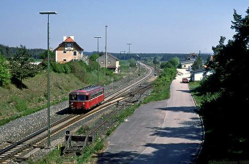Der Bahnhof und der kleine Zug