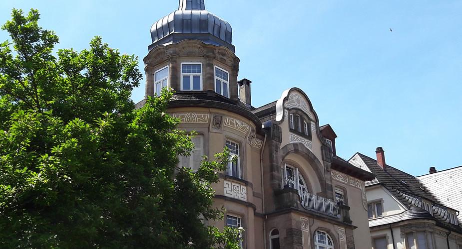 Bezienswaardigheden in Heidelberg: Jugendstil | Mooistestedentrips.nl