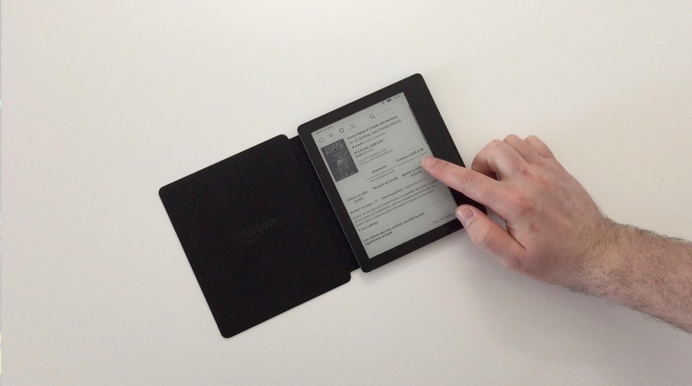 20170827 Test de la liseuse électronique Kindle OASIS Amazon 19