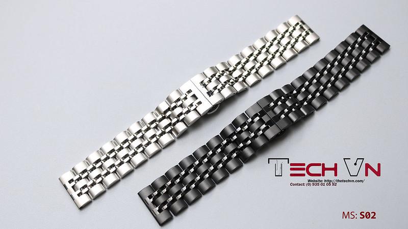 Dây thép 22mm - đồng hồ thông minh MS-S02 01