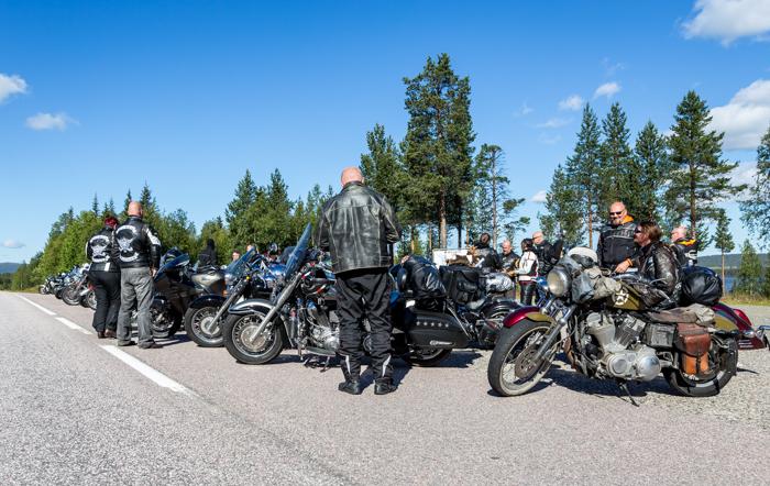 motoristit koulukiusaamista vastaan mkkv lappi lapland tour 2017 biker motoristi moottoripyörä muonio matkailu tunturi-lappi   (1 of 1)