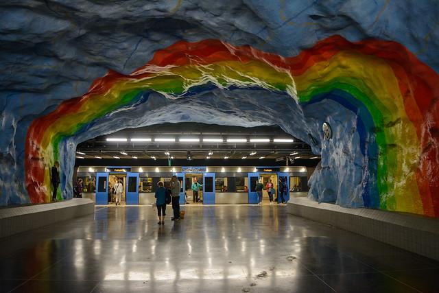 Tunnelbana Stadion station
