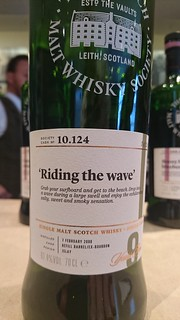 SMWS 10.124 - 'Riding the wave'