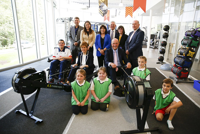 Opening of new National Training Sports Centre Inverclyde
