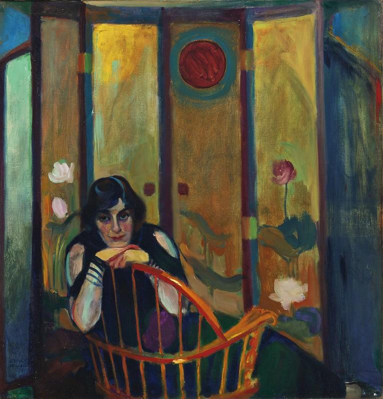 Edward Steichen - The lotus screen (1909)