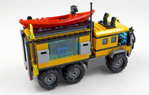 LEGO City Jungle 60160 Jungle Mobile Lab 50