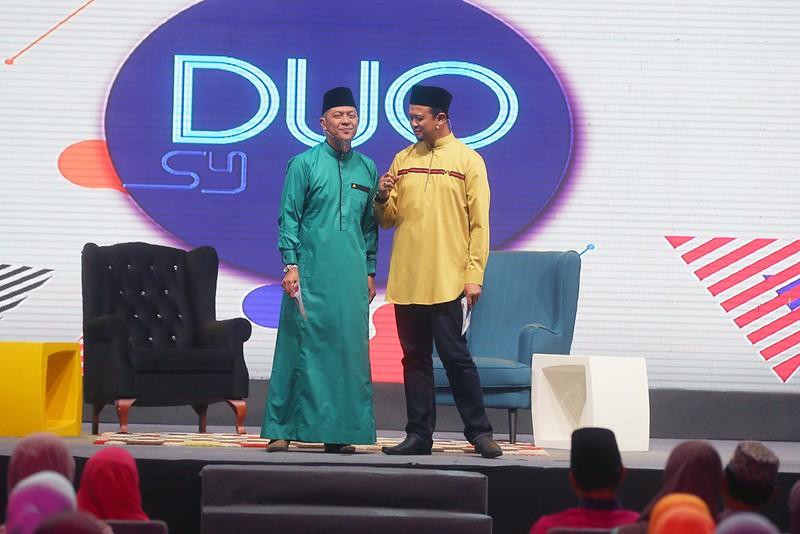 Syamsul Debat dan Syamsul Ghau Ghau dalam rancangan Duo Syamsul1