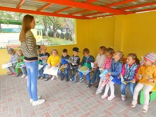 Зустріч з малюками садочку №268. 13.09.17. ім. І. Франка