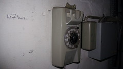 Old telephone found on an Urbex of a post office