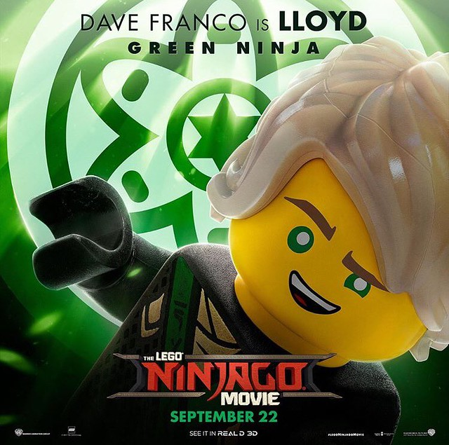 Plakaty postaci z The LEGO Ninjago Movie 1