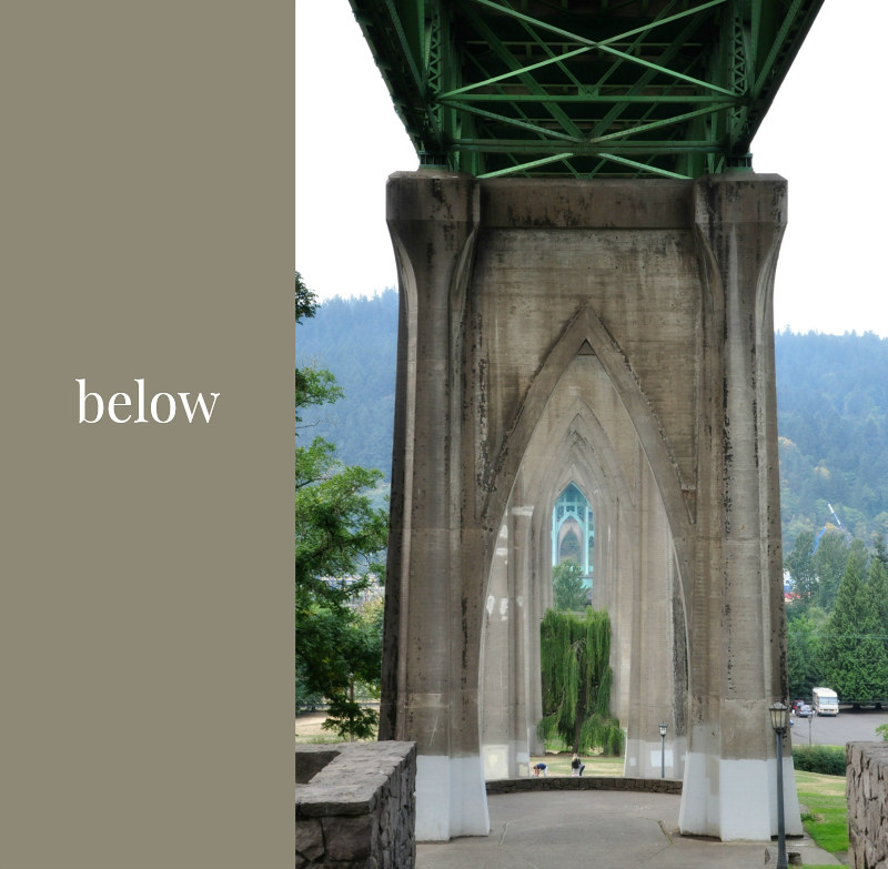 St. Johns Bridge Below @ Mt. Hope Chronicles