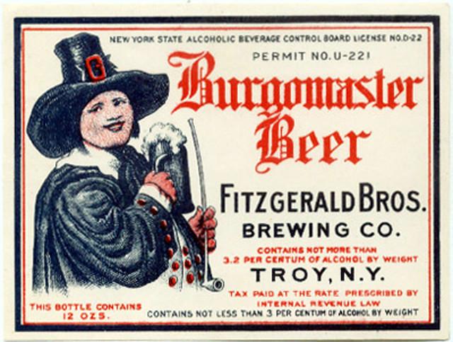 Fitzgerald-Bros-Brewing-Burgomaster-Troy-Ny