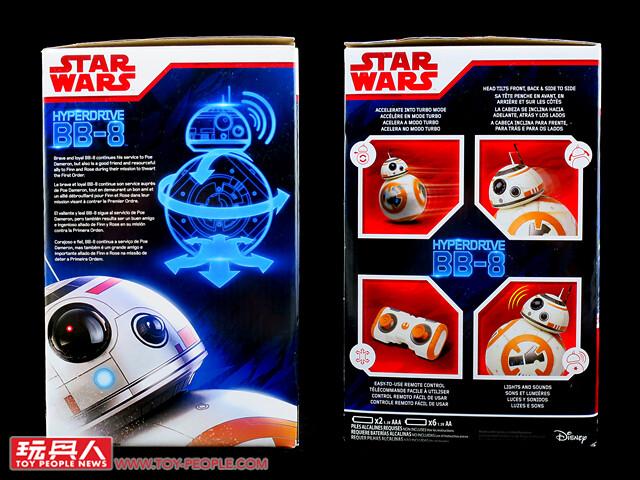 誰說可愛和勇敢無法兼容並存?孩之寶《星際大戰:最後的絕地武士》「波波電子絨毛聲效玩具」&「BB-8聲光進化遙控機器人」開箱報告