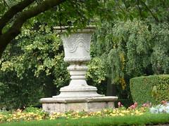 Aston Hall - Bloye stone vase