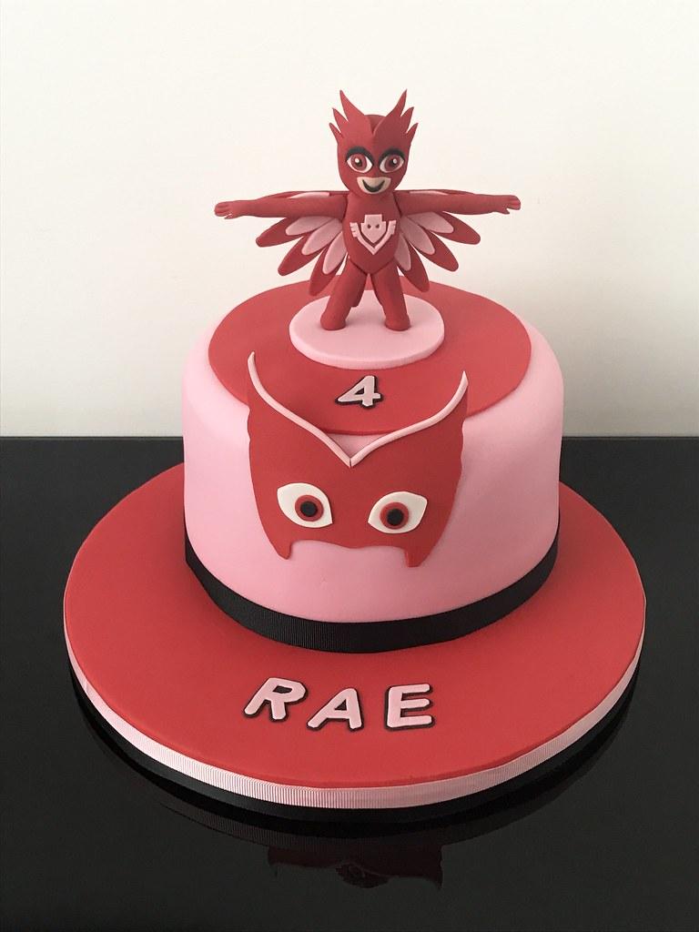 Birthday Mask Cake