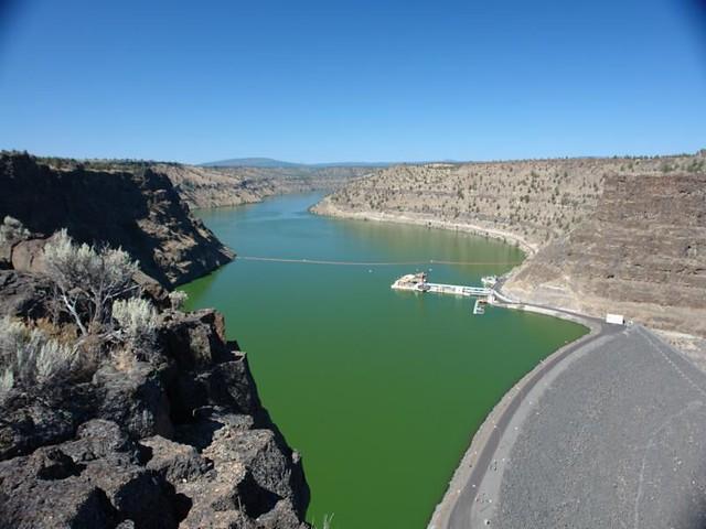 pelton dam deschutes river