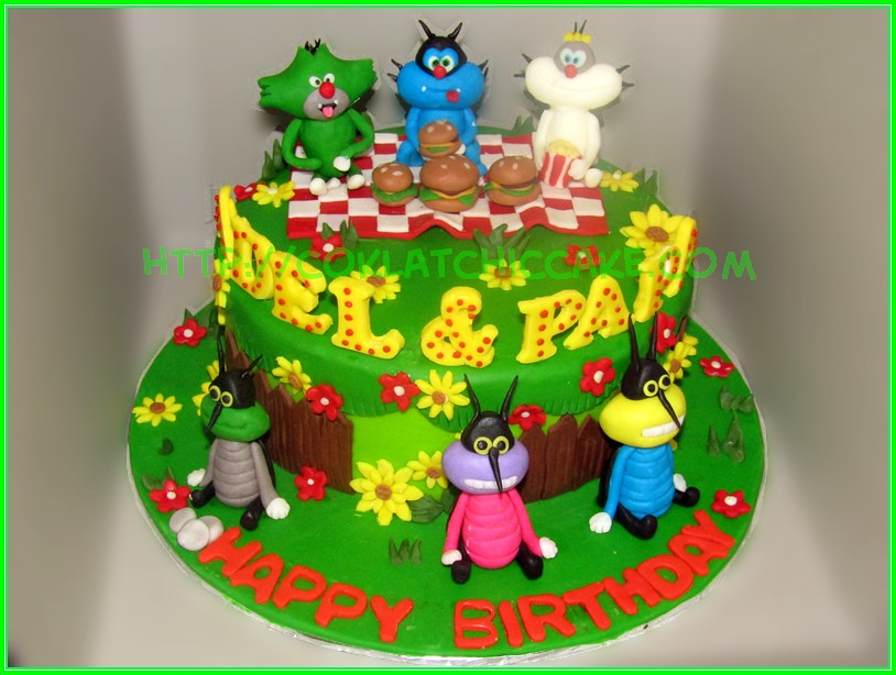 Cake Oggy Adel