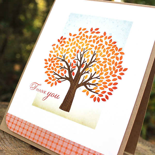 Autumn Thank You Card 2