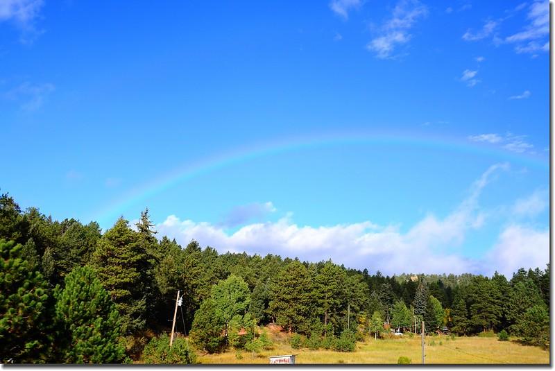 Rainbow along US 285 Hwy (4)