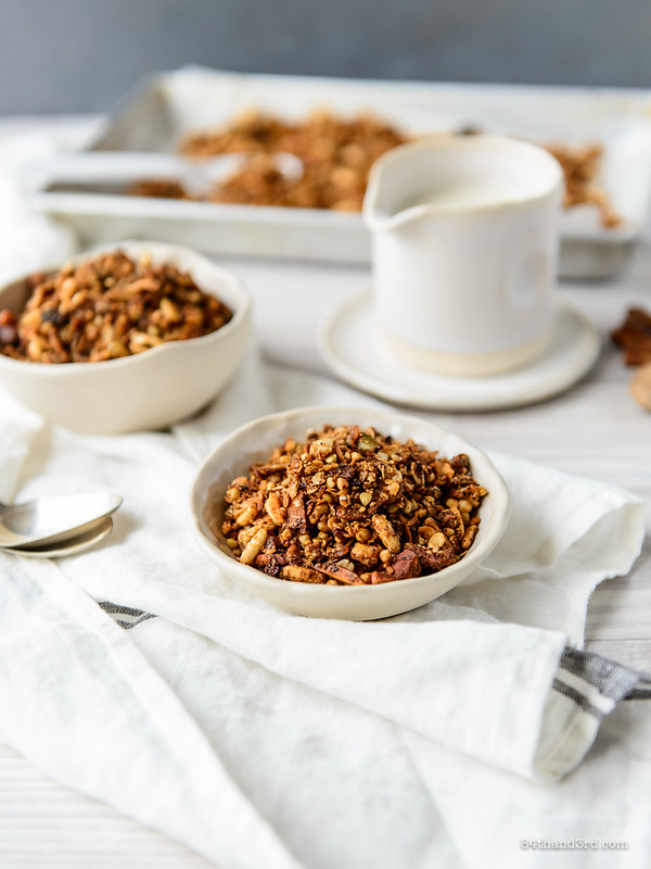 Hot Buttered Rum Granola