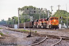 BNSF 8525 | EMD SD70ACe | BNSF Thayer South Division
