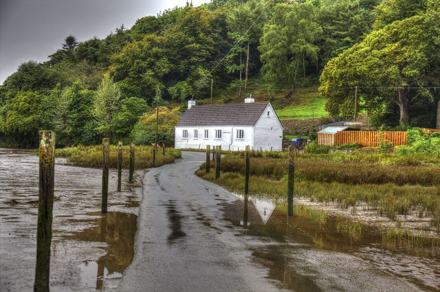 The Tidal Road - Aveton Gifford