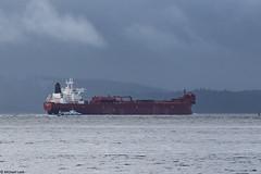 Knutsen OAS's crude oil tanker MV Grena Knutsen, IMO 9248447; Firth of Clyde