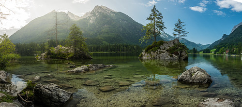 Morning at Hintersee from Toni Hoffmann