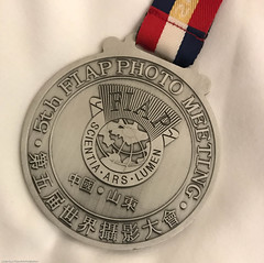 FIAP Medal given to all attending Photographers