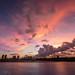 天鴿颱風來臨前夕陽 - Sunset before typhoon