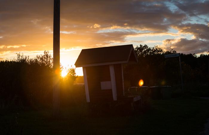 elokuu auringonlasku yötaivas iltarusko maisema maitolaituri (1 of 1)