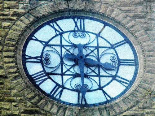 McGraw Tower clock