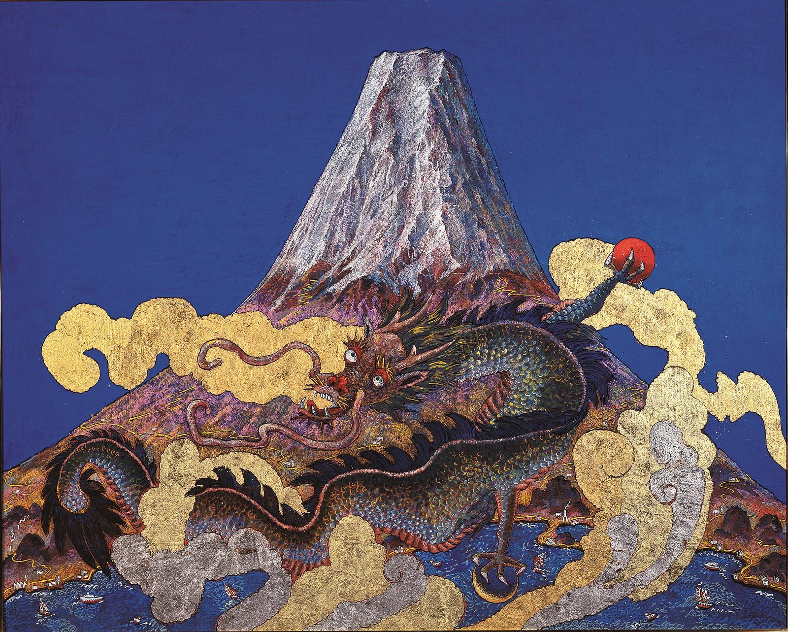 《蒼天富嶽龍宝図》(2008年)
