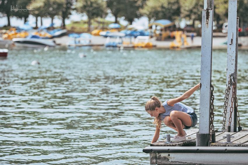 En el lago con Litel Pipol... Semana 15 (Quinto Año)