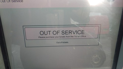 Earlswood Station - Out of Service