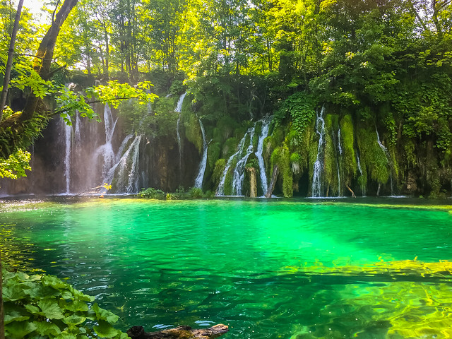 Plitvice Lakes National Park Aqua Water Fairytale