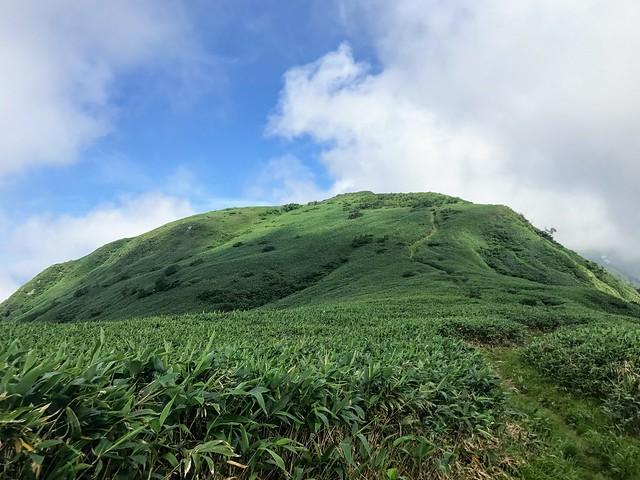 銚子ヶ峰 山頂部