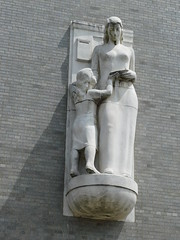 Bronx NY Post Office Sculpture