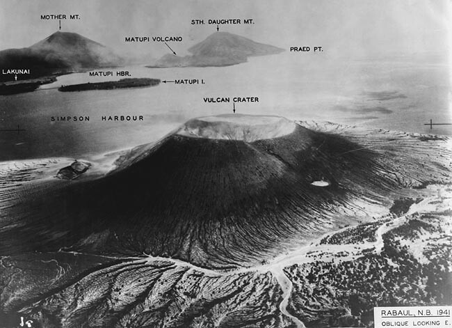 Rabaul Volcanos