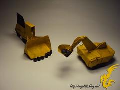 Bulldozer & Power Shovel