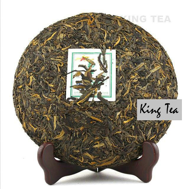 Free Shipping 2009 ShuangJiang MengKu MuShuCha Mom Tree's Tea Beeng Cake 500g China YunNan Chinese Organic Puer Puerh Raw Tea Sheng Cha